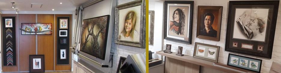 portrettekeningen