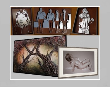 kunstschilder Carroline van Dijk schilderij laten maken