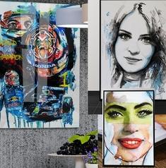 schilderij voorbeelden carroline van dijk