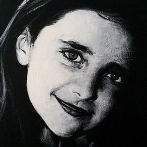 zwart-wit schilderij