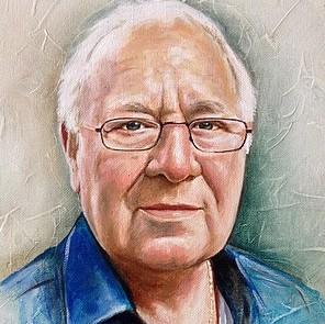 portretschilderij klein