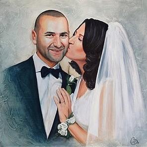 schilderij huwelijk