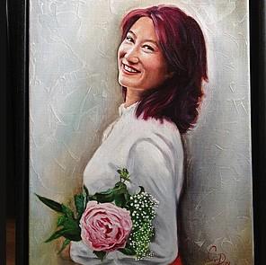 portret schilderij laten maken