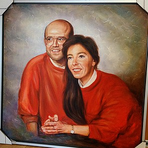 portretschilderij in memoriam