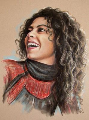 portrettekening kleur