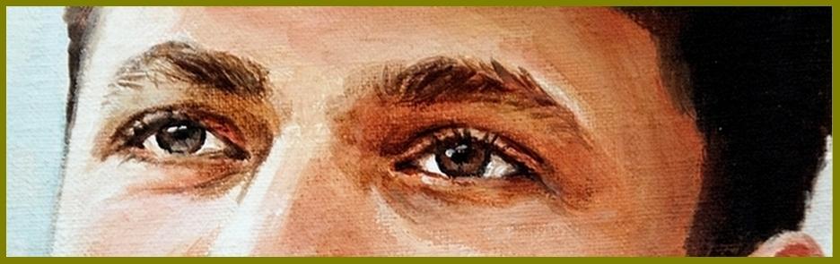 Portretschilder Carroline van Dijk schilderij laten maken