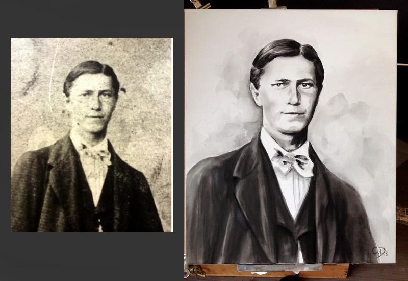 portretschilder Carroline van Dijk