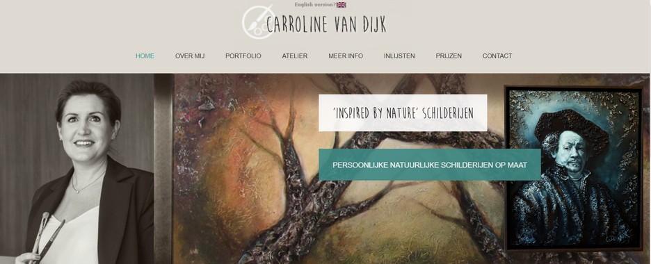 kunstschilder Carroline van Dijk